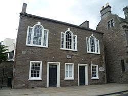 Glasite Meeting House, High Street, Perth, Scotland.JPG