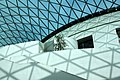Glass and steel roof of the Great Court, British Museum, London - panoramio.jpg