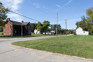 Monongahela Township, Greene County, Pennsylvania - Houses in the community of Glassworks