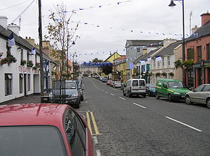Glenties - Glenties main street.
