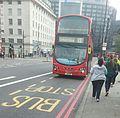 Go-Ahead London- London Central - Volvo B5LH-Wright Eclipse Gemini 2 - WHV6 LJ61GWC - Route 12 (15294596091).jpg