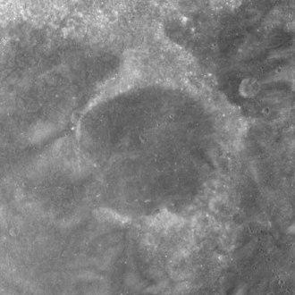 Goddard (crater) - Image: Goddard C crater AS17 M 0264