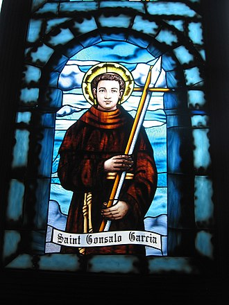 Gonsalo Garcia - Window pane in the Cathedral of Pune
