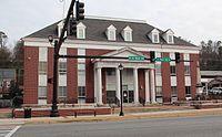 Gordon County, GA courthouse, Jan 2017