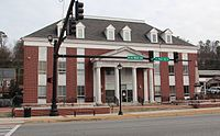 Gordon County, GA courthouse, Jan 2017.jpg