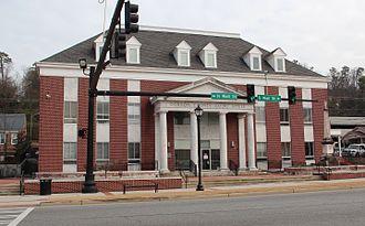 Gordon County, Georgia - Image: Gordon County, GA courthouse, Jan 2017