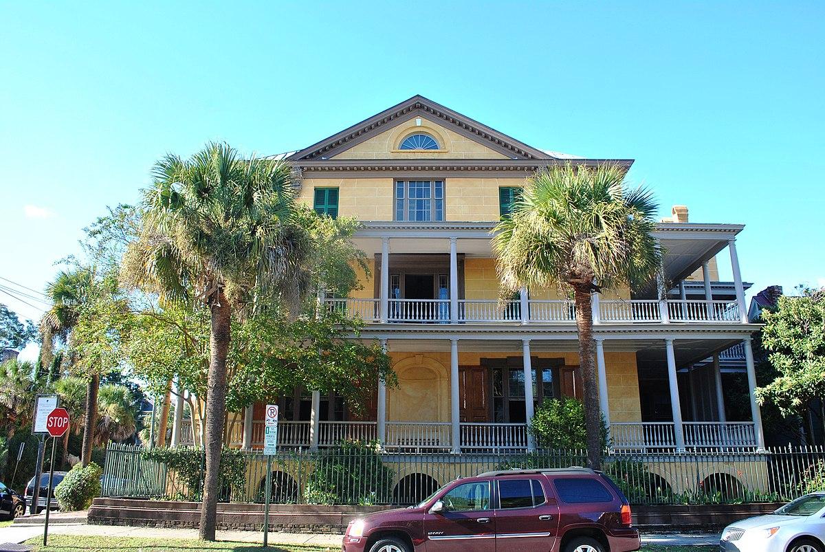 Gov william aiken house wikipedia for Aiken house