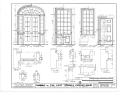 Governor Samuel Pickens House, State Route 14, Sawyerville, Hale County, AL HABS ALA,33-SAWV.V,1- (sheet 6 of 8).png