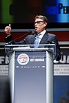 Governor of Texas Rick Perry at Citizens United Freedom Summit in Greenville South Carolina May 2015 by Michael Vadon 01.jpg