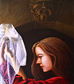 Grail Maiden painting HRoe 2005.jpg