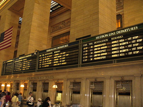 Grand Central Terminal, New York City Grand Central Board.jpg