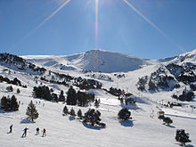 Gentle slopes make Andorra a favourite winter sports destination for beginners.
