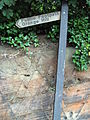 Grange Hill footpath sign, West Kirby.JPG