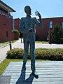 Graphisoft Park, Steve Jobs statue, 2016 Aquincum.jpg