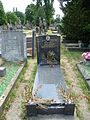 Grave at Kensal Green Cemetery 4th July 2015.JPG