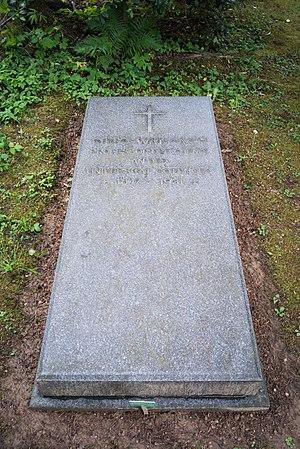 Otto Wallach - Otto Wallach's grave in Göttingen