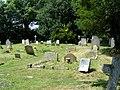 Gravestones at St. Nicholas Church Pevensey - geograph.org.uk - 1412739.jpg