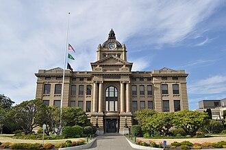 Montesano, Washington - Grays Harbor County Courthouse