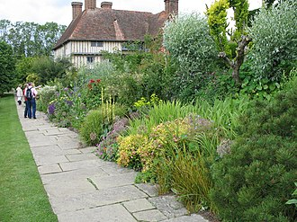Great Dixter - The long border within the garden