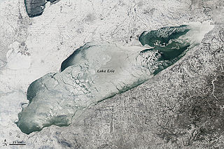 one of the Great Lakes in North America