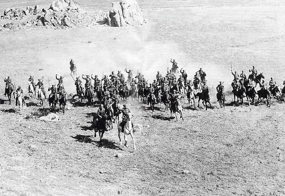 Greek Cavalry Asia Minor 1921