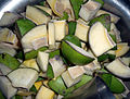 Green Mango pieces for Pickle 02.JPG