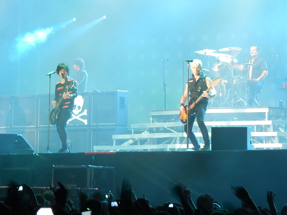 Green day Live 5 june 2013 in Rome