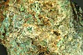 Green orthoclase (Precambrian; Southern Cross, about 11 to 12 km north of Broken Hill, far-western New South Wales, southeastern Australia) (15120707951).jpg