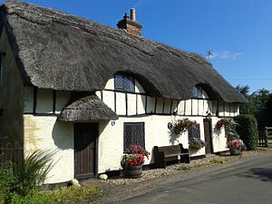 Greensand Cycle Way - Image: Greensand Cycleway Water End Cottage