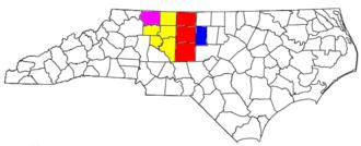Piedmont Triad - Image: Greensboro Winston Salem High Point CSA