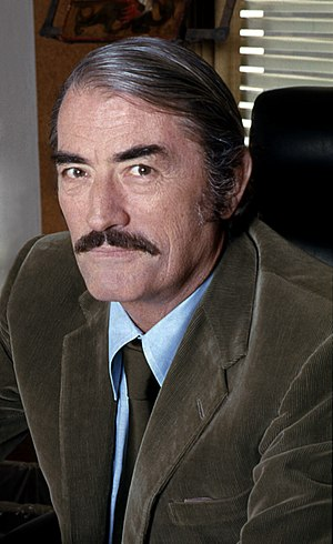 Gregory Peck - Peck in 1973, by Allan Warren