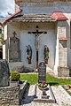 Griffen Untergreutschach 5 Pfarrkirche hl. Martin Kreuzigungsgruppe 26052017 8770.jpg