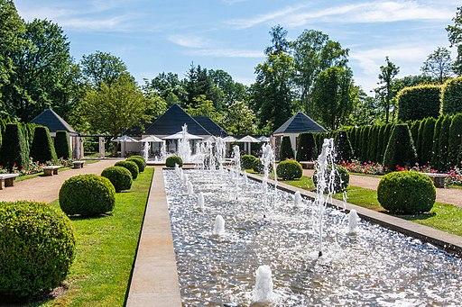 Große Wasserspiele im Ostdeutschen Rosengarten in Forst (Oder) - PatLografie - Patrick Lucia