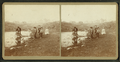 Group of children playing around water hole strewn with refuse, Pittsburgh, from Robert N. Dennis collection of stereoscopic views.png
