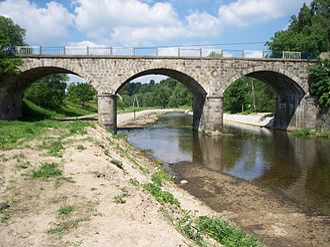 Kwisa - Bridge at Gryfów Śląski