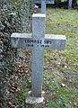 GuentherZ 2013-01-12 0387 Wien11 Zentralfriedhof Gruppe88 Soldatenfriedhof polnisch WK2 Grabkreuz Tomasz Sas.jpg