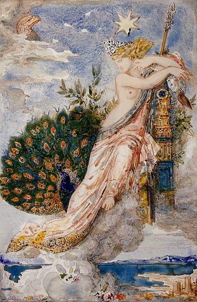 File:Gustave Moreau - Le Paon se plaignant à Junon.jpg