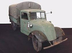 Gutbrod Heck 504, Baujahr 1949, mit Pritsche und Plane
