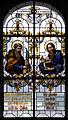 Hürbel Pfarrkirche Fenster Apostel Bartholomäus und Matthäus.jpg