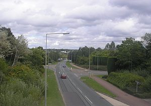 Milton Keynes grid road system - Image: H4 Dansteed Way