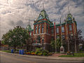 HDR version of the Front of the Hotel de Ville de Roberval..jpg