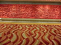 HKCEC 灣仔 香港會議展覽中心 Wan Chai lobby interior 06 wall sculpture red May-2013.JPG