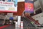 HK Arena 亞洲國際博覽館 AsiaWorld-Expo GSOL 環球資源 Global Sourcing banner n escalators sign October 2017 IX1.jpg