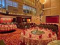 HK Jordan Nathan Road 香港逸東酒店 Eaton Hotel Hong Kong Banquet ballroom interior round tables Jan-2014 001.JPG