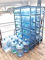 HK SW 上環 Sheung Wan 德輔道西 Des Voeux Road West Bonaqua Plastic drinking bottles August 2019 SSG 01.jpg