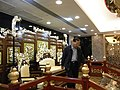 HK Shatin 沙田明星畫舫 Star Seafood Floating Restaurant 龍椅屏風 Dragon chair with folding screens Visitor.jpg