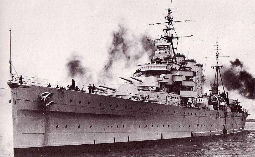 HMAS Australia 1946