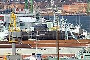 HMCS Chicoutimi Dockyard Halifax