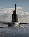 HMS Ambush Arriving at HMNB Clyde MOD 45154432.jpg
