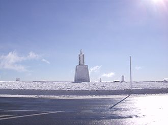 Torre (Serra da Estrela) - Trig point that marks the highest point of Continental Portugal.